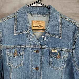 Womens Levi's Strauss denim jacket size M